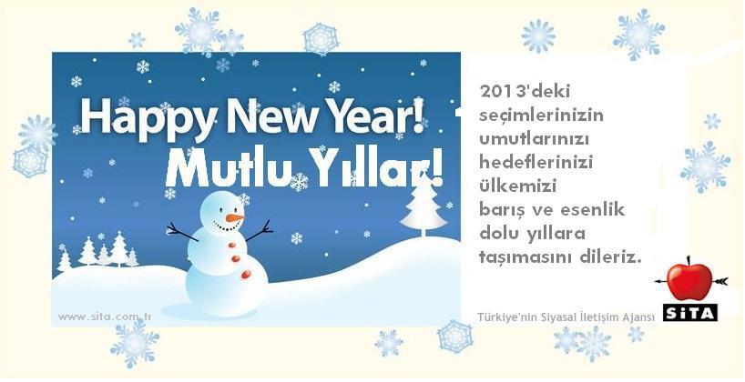 sita 2013 yeni yıl kartı