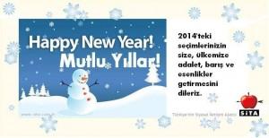 sita 2014 yeni yıl kartı