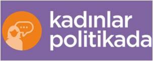 kadınlar politikada logo
