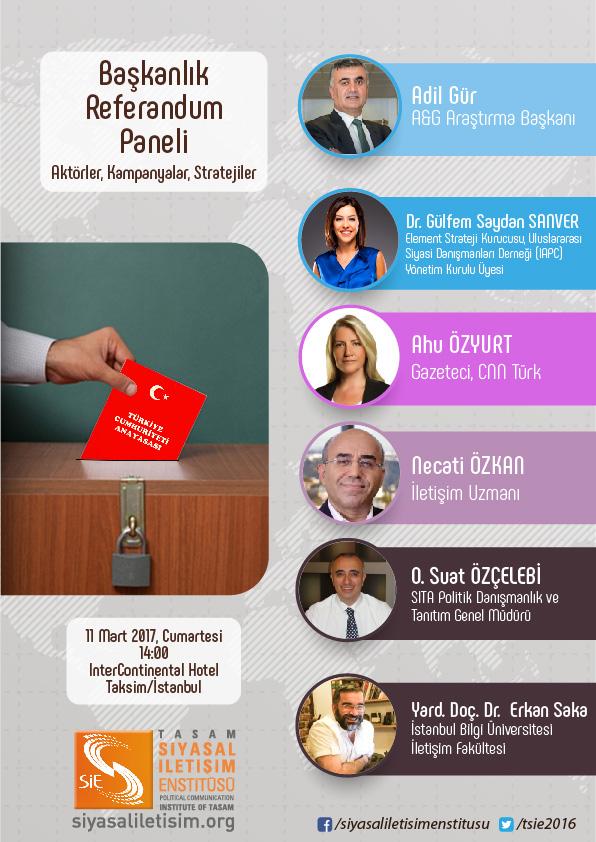 Başkanlık Referandumu Paneli Afiş
