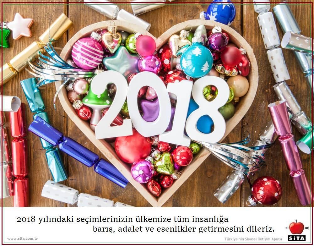2018 Sita yeni yıl kartı