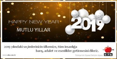 Sita 2019 yeni yıl kartı